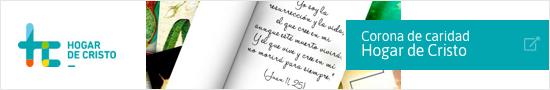 Coronas caridad - Hogar de Cristo